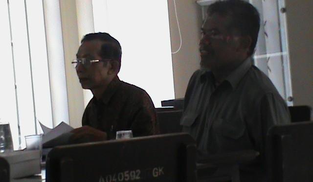 Ketua dan Sekretaris Majelis Dikdasmen PDM Gunungkidul